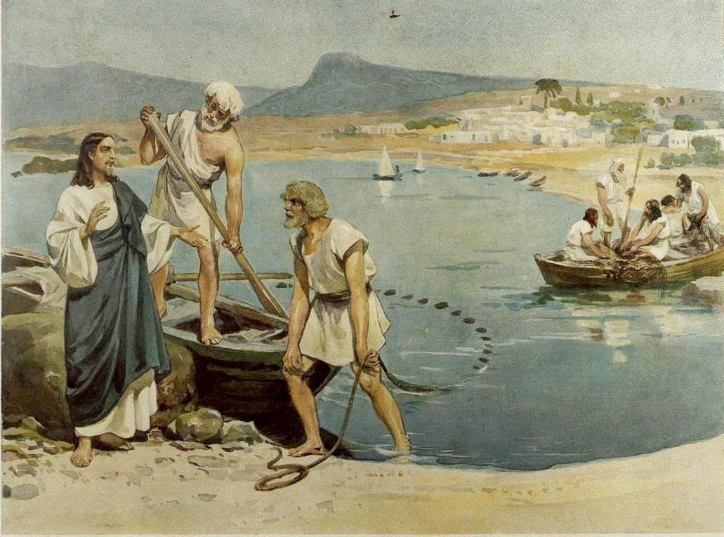 апостол петр был рыбак
