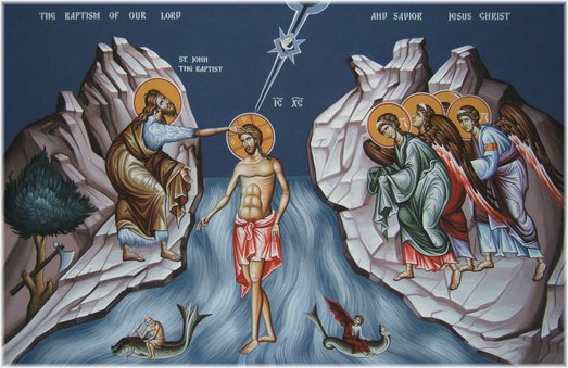 an introduction to the baptism of jesus